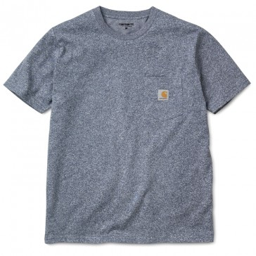 Carhartt S/S Pocket T-Shirt - Blue Noise Heather