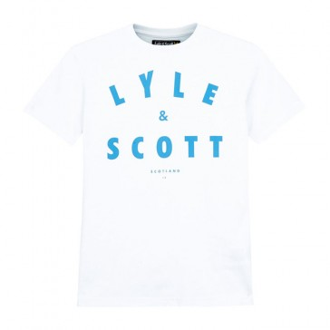 Lyle & Scott Boys Logo T-Shirt - Bright White