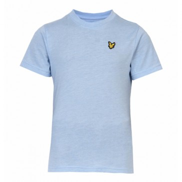 Lyle & Scott Boys Marl T-Shirt - Blue Marl