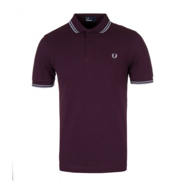 Fred Perry Twin Tipped Fred Perry Shirt	 - Bramble