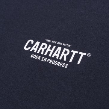 Carhartt S/S 89 T-Shirt - Duke Blue/White