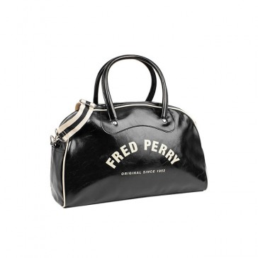 Fred Perry Classic Grip Bag - Black/Ecru
