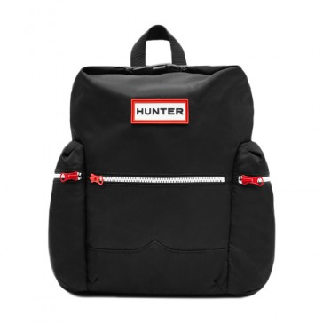 Hunter Org Top Clip Backpack - Black
