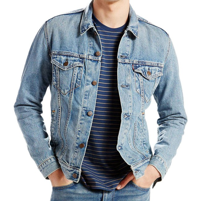 Levis Trucker Jacket Icy