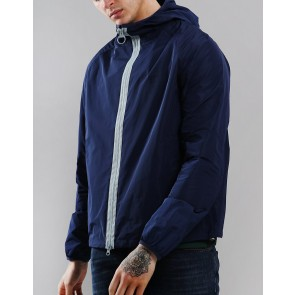 Barbour Beacon Col Casual Jacket - Navy