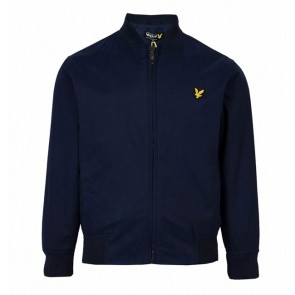 Lyle & Scott Boys Bomber Jacket - Deep Indigo