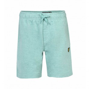 Lyle & Scott Boys Marl Fleece Short - Green