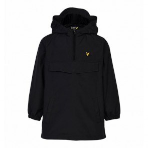Lyle & Scott Boys Pull Over Anorak	- True Black