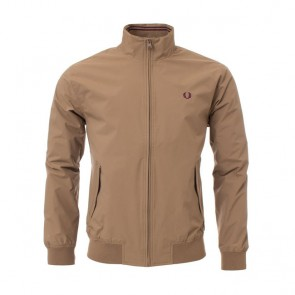 Fred Perry Brentham Jacket - Bronze