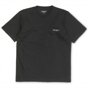 Carhartt S/S Brody T-Shirt - Black/Reflective Grey