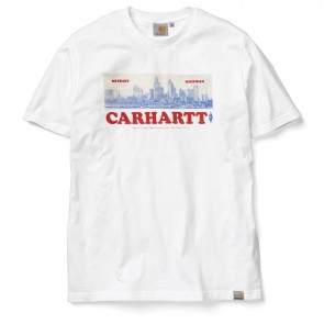 Carhartt Postcard S / S T-Shirt - White / Multicolour