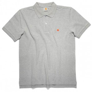 Carhartt S/S Slim Fit Polo - Grey Heather/Florida