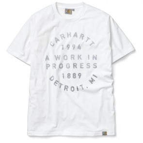 Carhartt Stamp S / S T-Shirt - White / Regatta