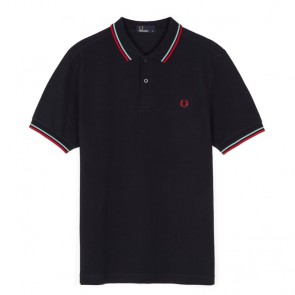 Fred Perry Twin Tipped Fred Perry Shirt	 - Navy/Mint/Terra