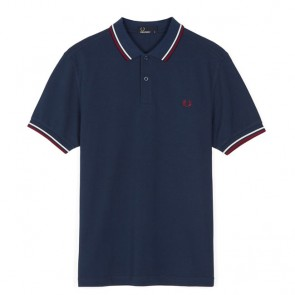 Fred Perry Twin Tipped Fred Perry Shirt	 - Deep Night