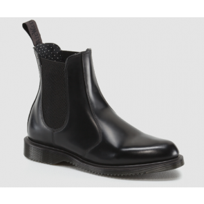 Dr Martens Flora Polished Smooth - Black