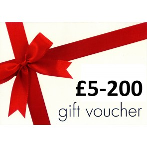 Gio's Concept * WEBSITE ONLY * Gift Voucher - £5-200 - (By Post)