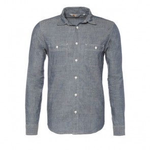 Carhartt	L/S Clink Shirt - Blue Rigid