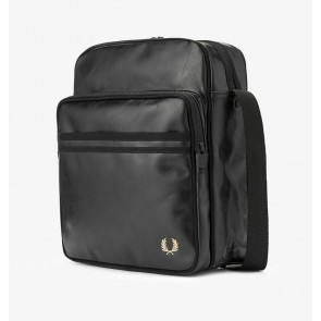 Fred Perry Tonal PU Flight Bag - Black