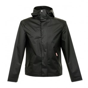 Hunter M Ori R Vinyl Windcheater - Black