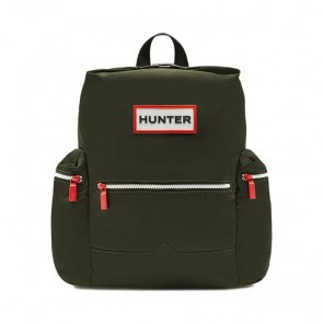 Hunter Org Top Clip Backpack - Dark Olive