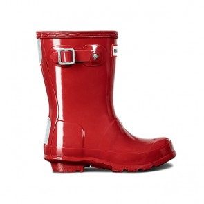 Hunter Original Kids Gloss - Military Red