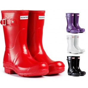 Hunter Women's Original Gloss Short Wellington Boot - W23700