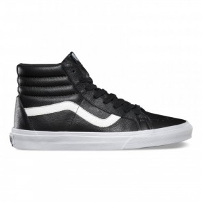 Vans SK8-HI Reissue Black (Premium Leather )