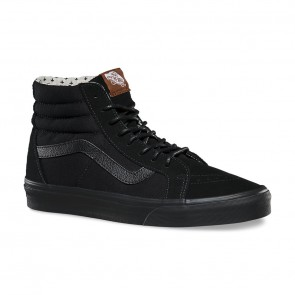 Vans Mens SK8- Hi Reissue- Black/ Plus