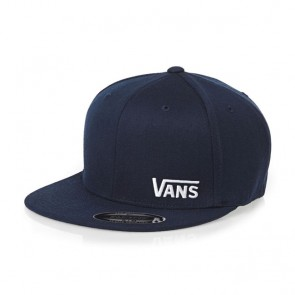 Vans Splitz Baseball Cap - Dress Blues/White