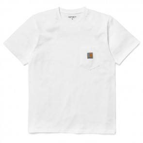 Carhartt S/S Pocket T-Shirt I001304 - 449 White
