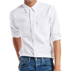 Levi's Sunset One Pocket Shirt White