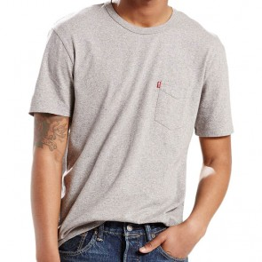 Levi's Sunset Pocket Tee Medium Grey Heather