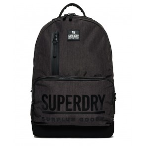 Superdry	Surplus Goods Multizip Montana Rucksack Dark Charcoal