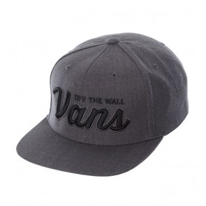 Vans New Charcoal Heather Wilmington Snap Cap - Grey