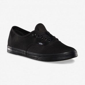 Vans Women's Authentic Lo Pro Shoe - Black / Black