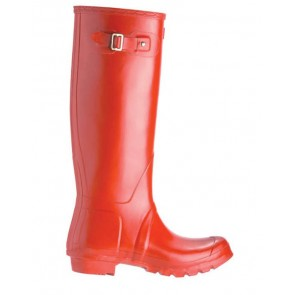 Hunters Unisex Original Tall Wellington Boot W23488 - Red
