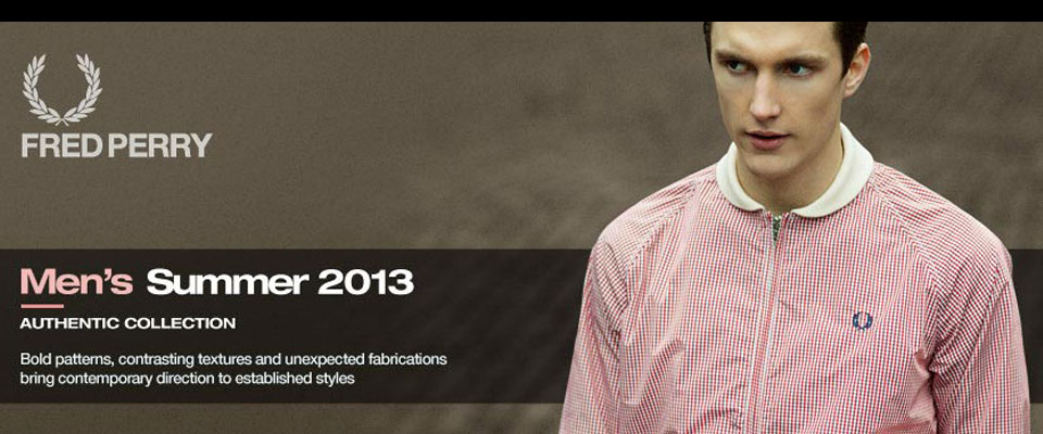 Fred Perry Mens Clothes